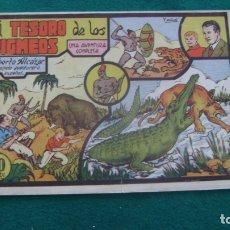 Tebeos: ROBERTO ALCAZAR ORIGINAL EL 15 EL TESORO DE LOS PIGMEOS 60 CYS PRIMERA EDICION CJ ROBERTO. Lote 174048628