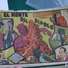 Tebeos: ROBERTO ALCAZAR ORIGINAL EL 13 EL MONTE DEL DIABLO 60 CTS PRIMERA EDICION CJ ROBERTO. Lote 174048659