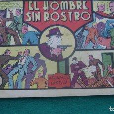 Tebeos: ROBERTO ALCAZAR ORIGINAL EL 10 EL HOMBRE SIN ROSTRO 60 CTS PRIMERA EDICION CJ ROBERTO. Lote 174048675
