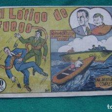 Tebeos: ROBERTO ALCAZAR ORIGINAL EL 8 EL LATIGO DE FUEGO 60 CTS PRIMERA EDICION CJ ROBERTO. Lote 174048715