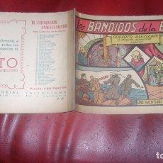 Tebeos: ROBERTO ALCAZAR 57 LOS BANDIDOS DE LA ESTEPA ORIGINAL CJ ROBERTO. Lote 174048854