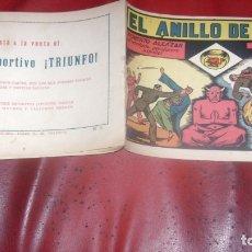 Tebeos: ROBERTO ALCAZAR 51 EL ANILLO DE AGAMI ORIGINAL CJ ROBERTO. Lote 174048862