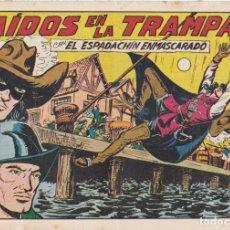 Tebeos: EL ESPADACHIN ENMASCARADO CAIDOS EN LA TRAMPA LA FOTO VER FOTO ADICIONAL CONTRAPORTADA. Lote 174083767