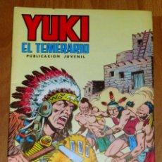 Tebeos: YUKI : EL TEMERARIO. NÚM. 7 : LA VENGANZA DE TORO BRAVO (SELECCIÓN AVENTURERA EDIVAL). Lote 174220039