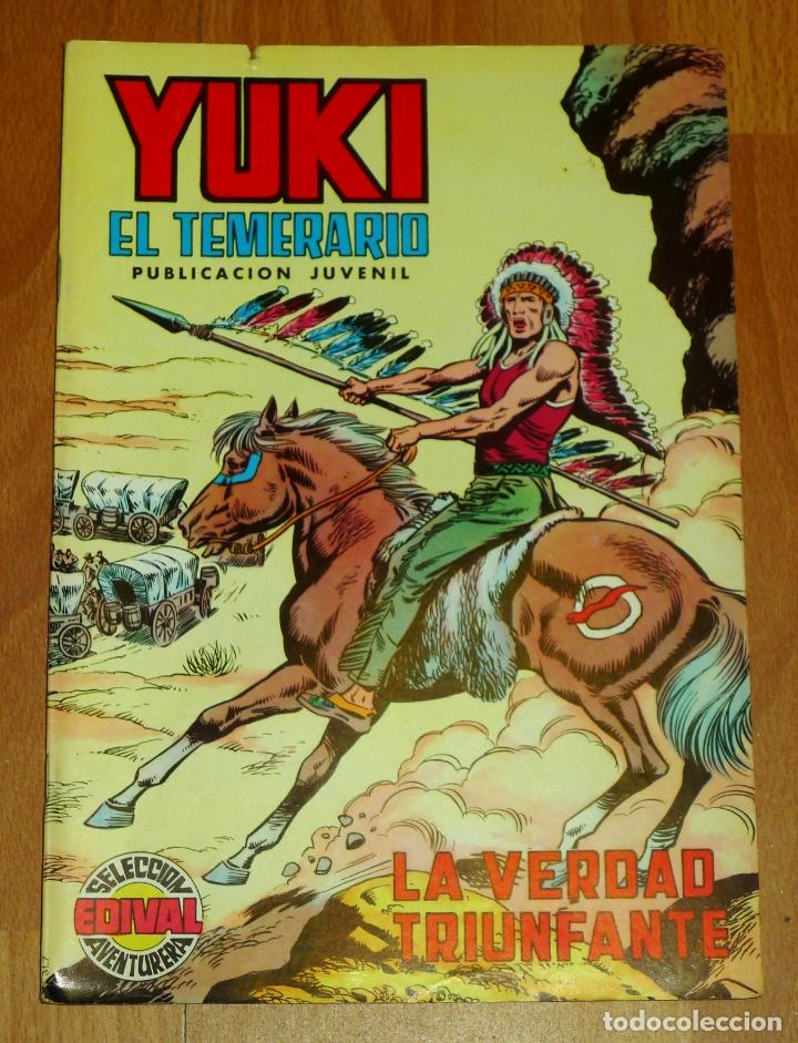 YUKI : EL TEMERARIO. NÚM. 8 : LA VERDAD TRIUNFANTE (SELECCIÓN AVENTURERA EDIVAL) (Tebeos y Comics - Valenciana - Selección Aventurera)