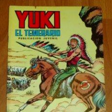 Tebeos: YUKI : EL TEMERARIO. NÚM. 8 : LA VERDAD TRIUNFANTE (SELECCIÓN AVENTURERA EDIVAL). Lote 174220095