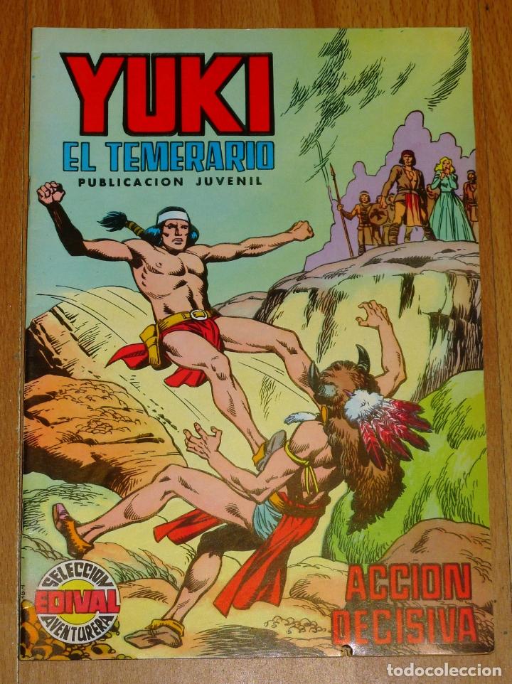 YUKI : EL TEMERARIO. NÚM. 11 : ACCIÓN DECISIVA (SELECCIÓN AVENTURERA EDIVAL) (Tebeos y Comics - Valenciana - Selección Aventurera)