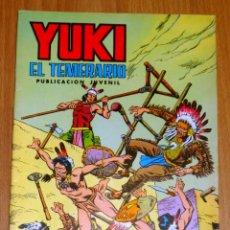Tebeos: YUKI : EL TEMERARIO. NÚM. 12 : LUCHA DE EXTERMINIO (SELECCIÓN AVENTURERA EDIVAL). Lote 174220422