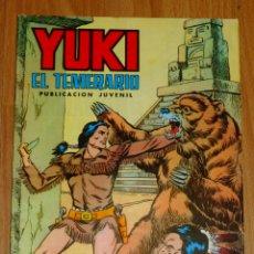 Tebeos: YUKI : EL TEMERARIO. NÚM. 15 : TRAICIÓN EN LA SOMBRA (SELECCIÓN AVENTURERA EDIVAL). Lote 174220620