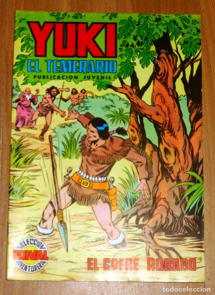 YUKI : EL TEMERARIO. NÚM. 16 : EL COFRE ROBADO (SELECCIÓN AVENTURERA EDIVAL) (Tebeos y Comics - Valenciana - Selección Aventurera)