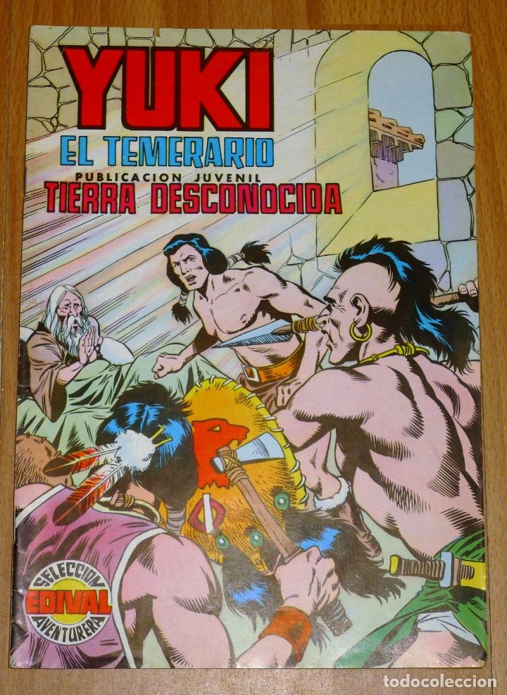 YUKI : EL TEMERARIO. NÚM. 19 : TIERRA DESCONOCIDA (SELECCIÓN AVENTURERA EDIVAL) (Tebeos y Comics - Valenciana - Selección Aventurera)