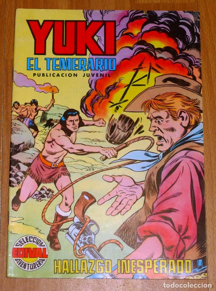 YUKI : EL TEMERARIO. NÚM. 20 : HALLAZGO INESPERADO (SELECCIÓN AVENTURERA EDIVAL) (Tebeos y Comics - Valenciana - Selección Aventurera)