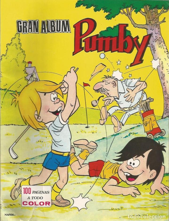 GRAN ALBUM PUMBY Nº 9 - ED. VALENCIANA - (LOS JUEGOS ESTÁN LIMPIOS) (Tebeos y Comics - Valenciana - Pumby)