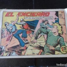 Tebeos: EL GUERRERO DEL ANTIFAZ Nº 140 EDITORIAL VALENCIANA ORIGINAL . Lote 174523853