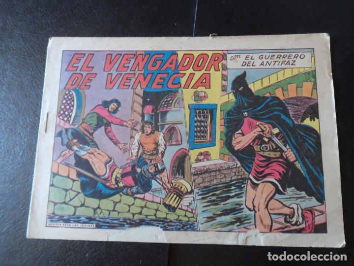 EL GUERRERO DEL ANTIFAZ Nº 302 EDITORIAL VALENCIANA ORIGINAL (Tebeos y Comics - Valenciana - Guerrero del Antifaz)