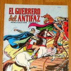 Tebeos: EL GUERRERO DEL ANTIFAZ. Nº 266 : EL JEQUE DE LAS TINIEBLAS. Lote 175022889