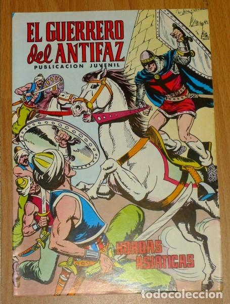 EL GUERRERO DEL ANTIFAZ. Nº 329 : HORDAS ASIÁTICAS (Tebeos y Comics - Valenciana - Guerrero del Antifaz)