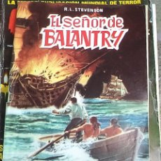 Tebeos: EL SEÑOR DE BALANTRY ED. VALENCIANA 1984 CLASICOS ILUSTRADOS N.º 5 . Lote 175157972