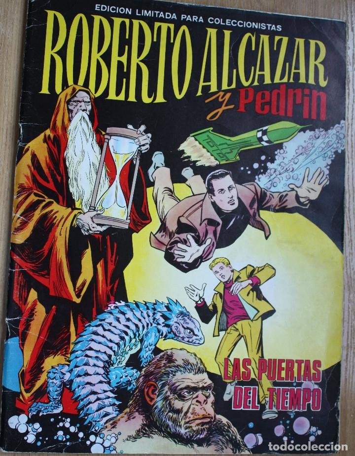 ROBERTO ALCAZAR - ALBUM GIGANTE - ORIGINAL (Tebeos y Comics - Valenciana - Roberto Alcázar y Pedrín)