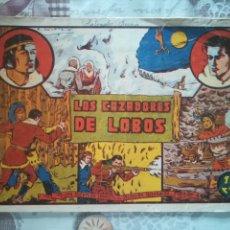 Tebeos: SELECCION AVENTURERA LOS CAZADORES DE LOBOS. Lote 175255109