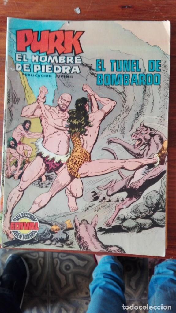 TEBEO, VALENCIANA, PURK EL HOMBRE DE PIEDRA, EL TUNEL DE BOMBARDO, NUM.80 (Tebeos y Comics - Valenciana - Purk, el Hombre de Piedra)