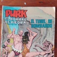 Tebeos: TEBEO, VALENCIANA, PURK EL HOMBRE DE PIEDRA, EL TUNEL DE BOMBARDO, NUM.80. Lote 175499948