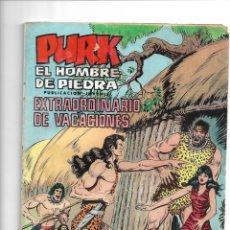 Tebeos: PURK EL HOMBRE DE PIEDRA, EXTRAORDINARIO DE VACACIONES PARA 1975 DIBUJOS MANUEL GAGO. Lote 175560204