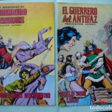 Tebeos: 2 CÓMICS EL GUERRERO DEL ANTIFAZ: FANTASMAS DESCUBIERTOS (Nº 62) Y DUELO CON EL LOCO (Nº 171). Lote 175625447