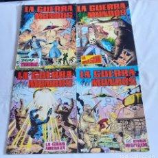 Tebeos: LA GUERRA DE LOS MUNDOS - EDITORIAL VALENCIANA / COLECCIÓN COMPLETA. Lote 175664797