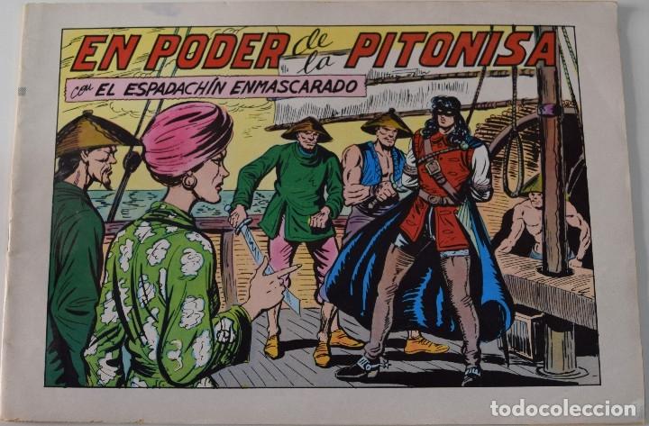 EL ESPADACHIN ENMASCARADO Nº 66 - EN PODER DE LA PITONISA - SEGUNDA EDICIÓN (Tebeos y Comics - Valenciana - Espadachín Enmascarado)