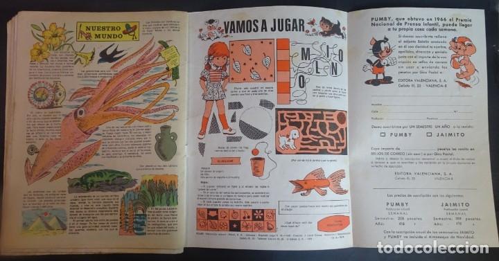 Tebeos: LOTE DE 4 ANTIGUOS TEBEOS PUMBY PUBLICACIÓN INFANTIL, AÑO XX Nº 876-883-884-892, VER FOTOS - Foto 9 - 175685758