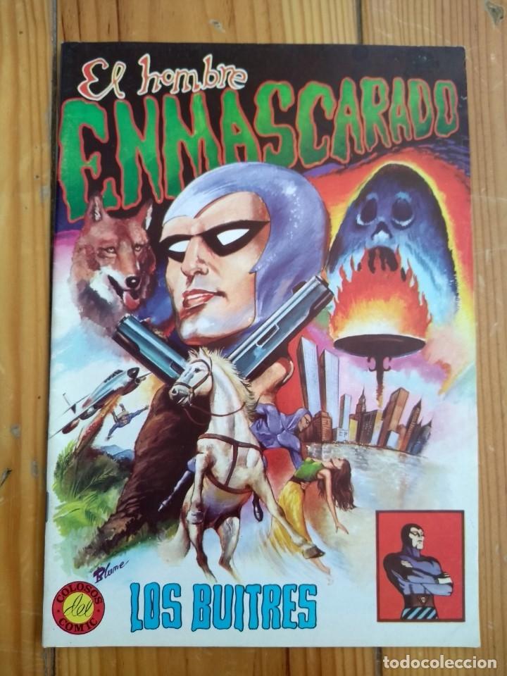 Tebeos: El Hombre Enmascarado - Colosos del comic nºs 1 2 3 4 5 6 y 7 - Buen y muy buen estado - Foto 2 - 175903130