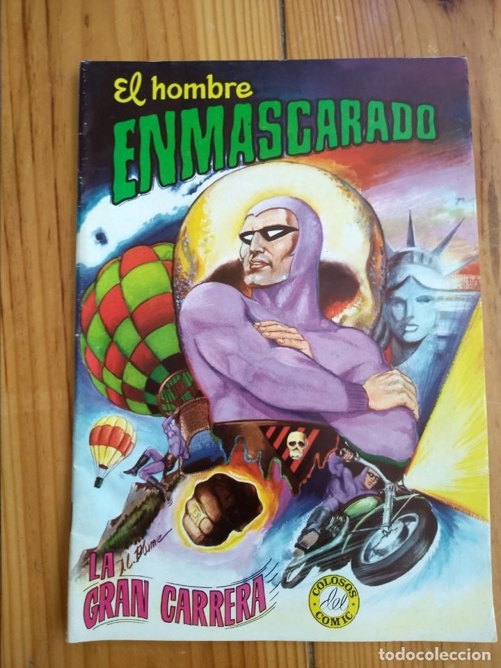 Tebeos: El Hombre Enmascarado - Colosos del comic nºs 1 2 3 4 5 6 y 7 - Buen y muy buen estado - Foto 3 - 175903130