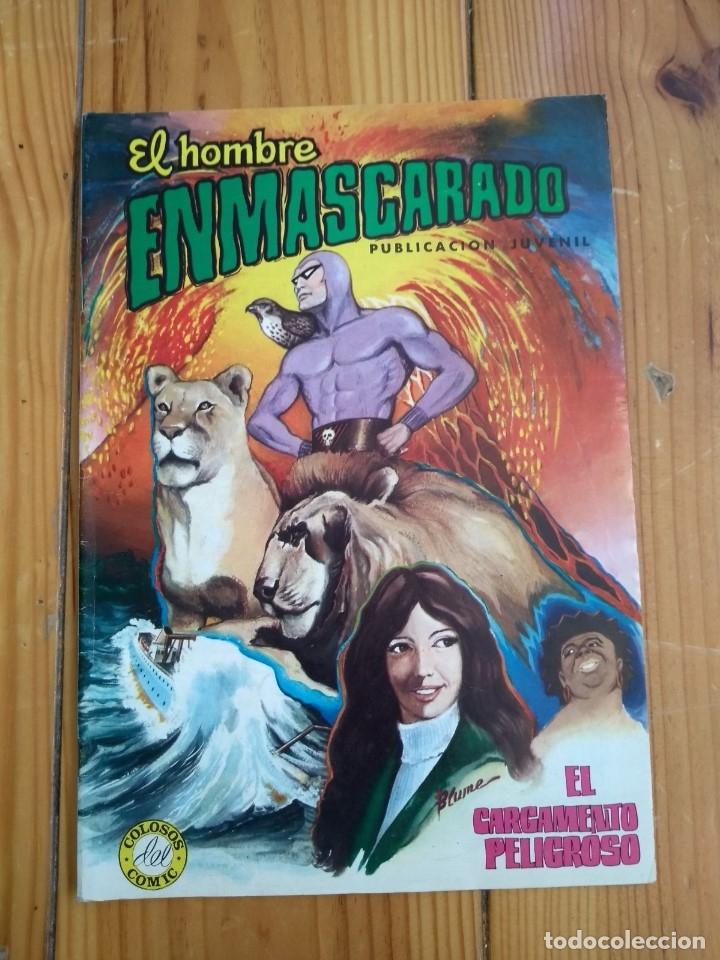 Tebeos: El Hombre Enmascarado - Colosos del comic nºs 1 2 3 4 5 6 y 7 - Buen y muy buen estado - Foto 4 - 175903130