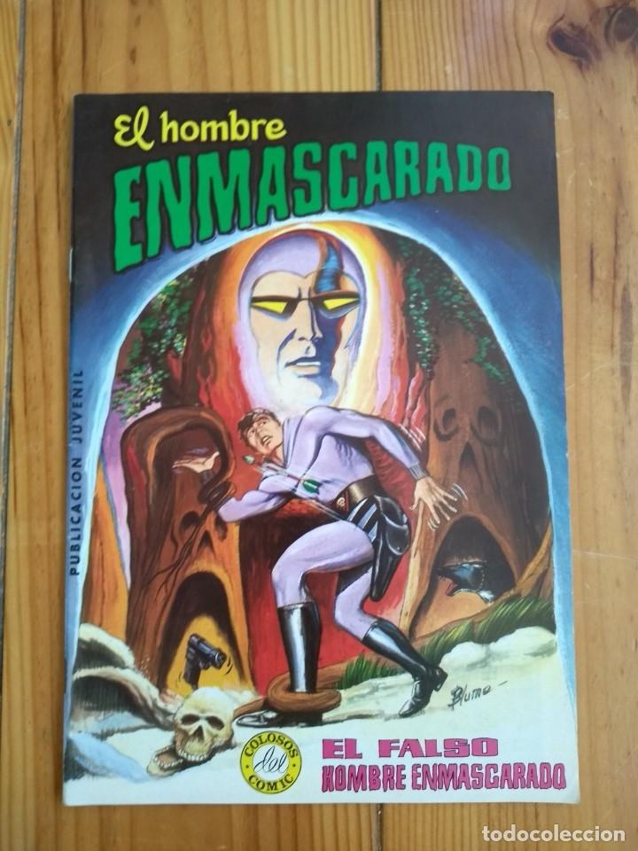 Tebeos: El Hombre Enmascarado - Colosos del comic nºs 1 2 3 4 5 6 y 7 - Buen y muy buen estado - Foto 5 - 175903130