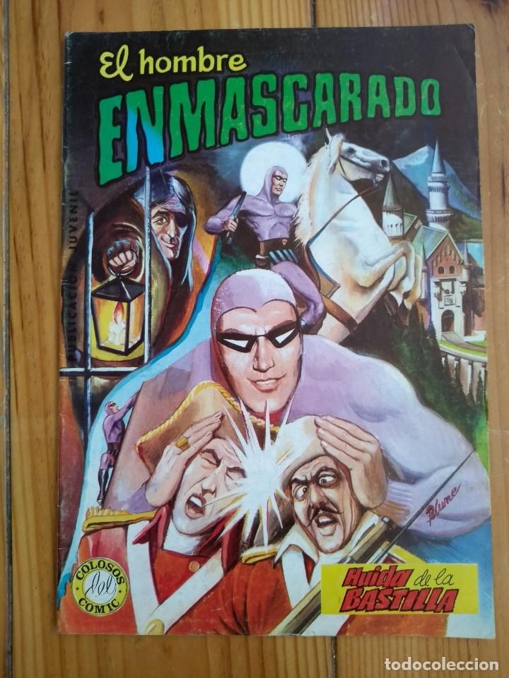 Tebeos: El Hombre Enmascarado - Colosos del comic nºs 1 2 3 4 5 6 y 7 - Buen y muy buen estado - Foto 6 - 175903130