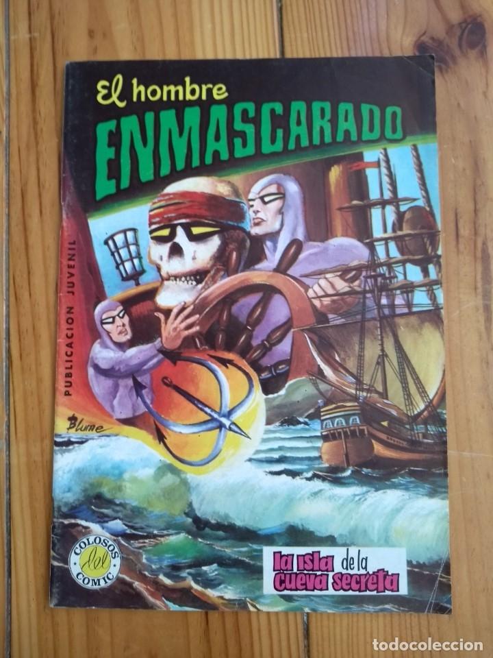 Tebeos: El Hombre Enmascarado - Colosos del comic nºs 1 2 3 4 5 6 y 7 - Buen y muy buen estado - Foto 7 - 175903130