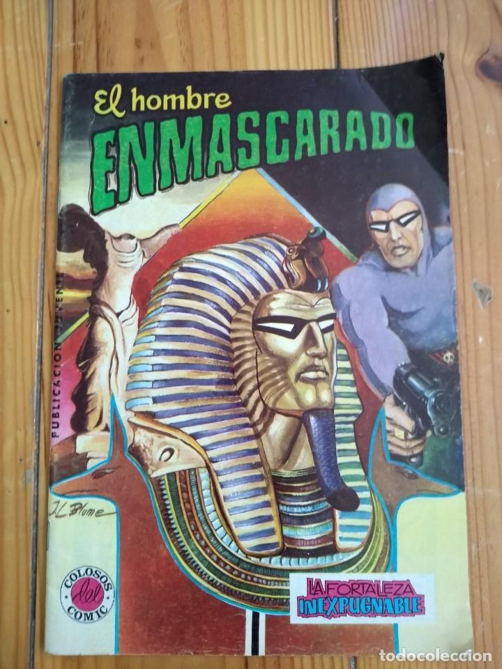 Tebeos: El Hombre Enmascarado - Colosos del comic nºs 1 2 3 4 5 6 y 7 - Buen y muy buen estado - Foto 8 - 175903130