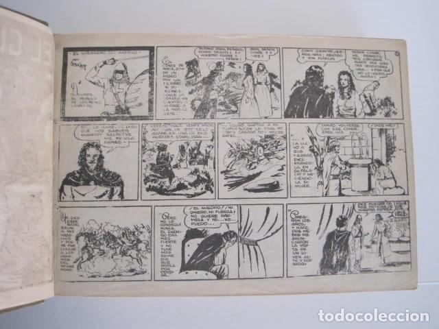 Tebeos: CÓMIC GUERRERO DEL ANTIFAZ. 4 TOMOS, NÚMEROS 1-362. EDITORIAL VALENCIANA. 1958. ENCUADERNADO. - Foto 9 - 175932008