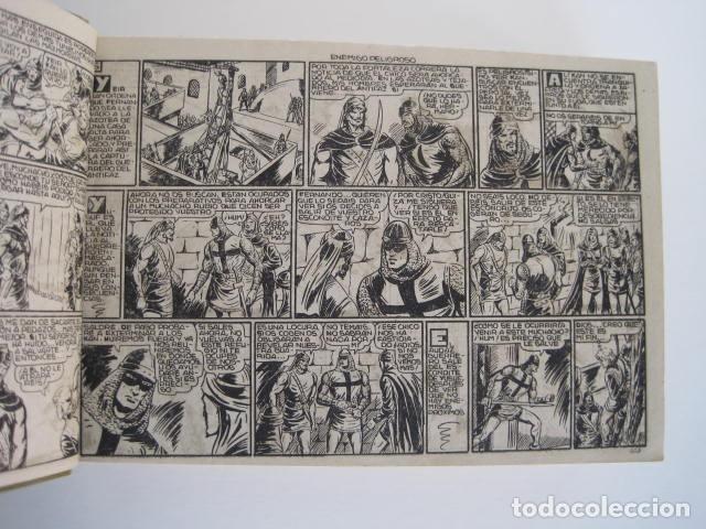 Tebeos: CÓMIC GUERRERO DEL ANTIFAZ. 4 TOMOS, NÚMEROS 1-362. EDITORIAL VALENCIANA. 1958. ENCUADERNADO. - Foto 17 - 175932008