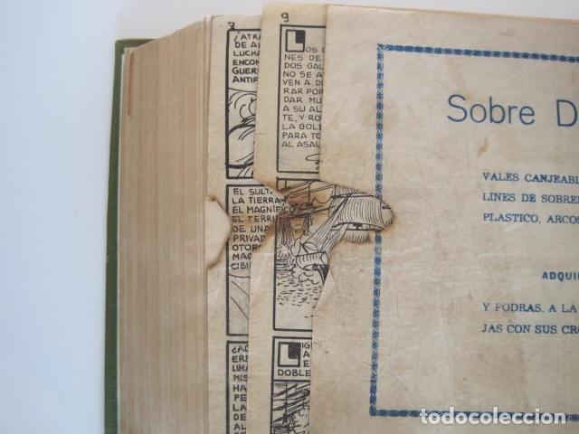 Tebeos: CÓMIC GUERRERO DEL ANTIFAZ. 4 TOMOS, NÚMEROS 1-362. EDITORIAL VALENCIANA. 1958. ENCUADERNADO. - Foto 23 - 175932008