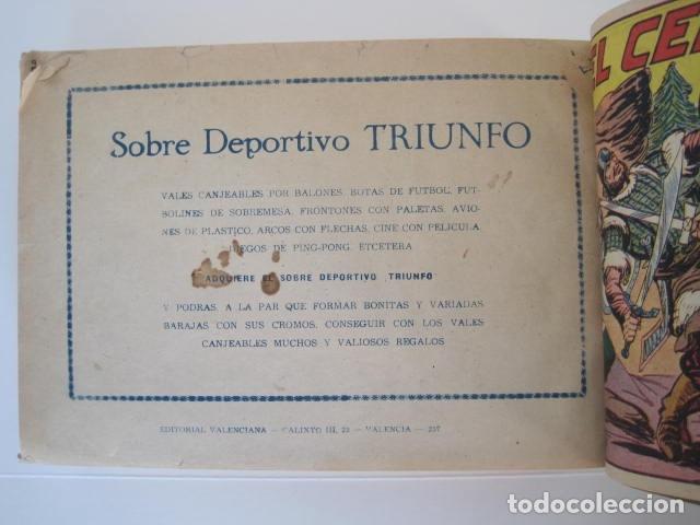 Tebeos: CÓMIC GUERRERO DEL ANTIFAZ. 4 TOMOS, NÚMEROS 1-362. EDITORIAL VALENCIANA. 1958. ENCUADERNADO. - Foto 24 - 175932008