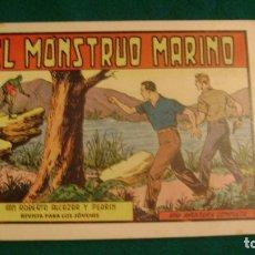 Tebeos: EL MONSTRUO MARINO 380 ROBERTO ALCAZAR PRIMERA EDICION ORIGINAL CAJA ROBERTO. Lote 176033100