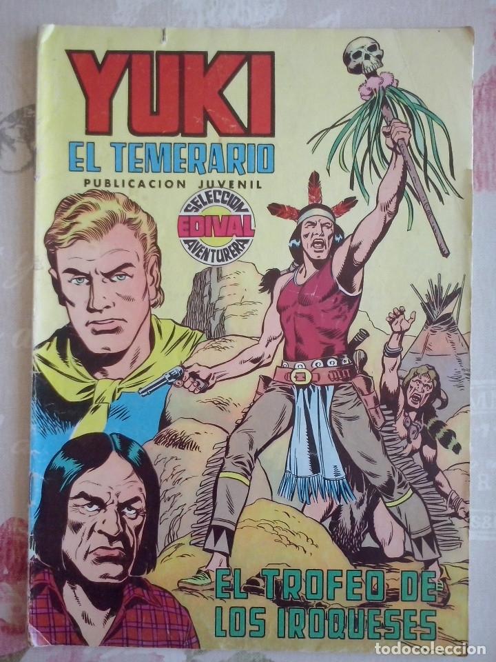 YUKI EL TEMERARIO NUM. 5 .SELECCION EDIVAL AVENTURERA (Tebeos y Comics - Valenciana - Otros)
