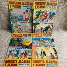Tebeos: ROBERTO ALCAZAR Y PEDRIN EXTRA, LOTE 6 EJEMPLARES - EDITORIAL VALENCIANA. Lote 61067091