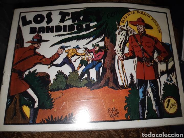 TEBEOS-CÓMICS CANDY - DAVID DE LA POLICÍA MONTADA - COMPLETA- HNOS GAGO - AA99 (Tebeos y Comics - Valenciana - Otros)