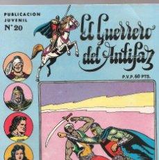 Tebeos: GUERRERO SERIE INEDITA Nº 20 HISTORIETAS DE M.GAGO L.BERMEJO J.GRAU 1973 VALENCIANA . Lote 176539493