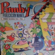 Tebeos: PUMBY PUBLICACIÓN INFANTIL AÑO XVI - Nº 652 VALENCIANA. 1970. Lote 176639978