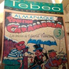 Tebeos: FASCÍCULO HISTORIA DEL TEBEO VALENCIANO - LEVANTE 1992 - N°3 - LOS INICIOS DE EDITORIAL VALENCIANA -. Lote 176690492