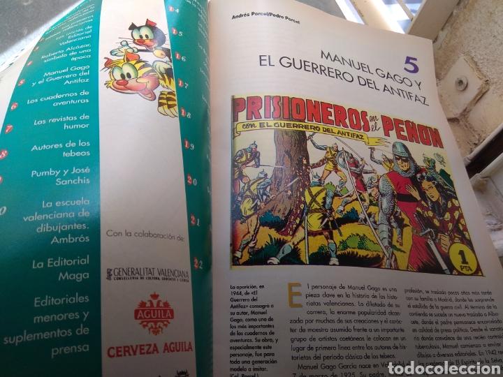 Tebeos: Fascículo Historia del Tebeo Valenciano - Levante 1992 - N°5 - El Guerrero del Antifaz - - Foto 3 - 176690849